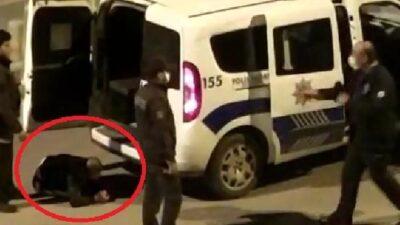 Bursa'da hareketli anlar! Polisten kaçtı, tabancasını göle attı…
