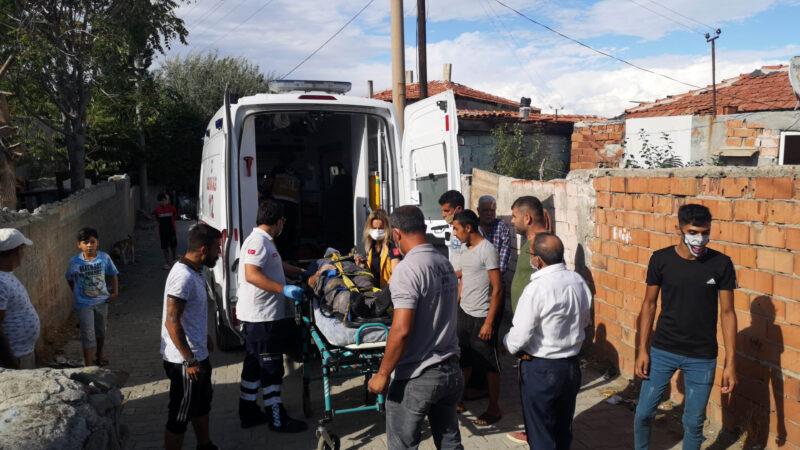 Ambulans yaralıya ulaşamadı, kepçeyle yol açıldı