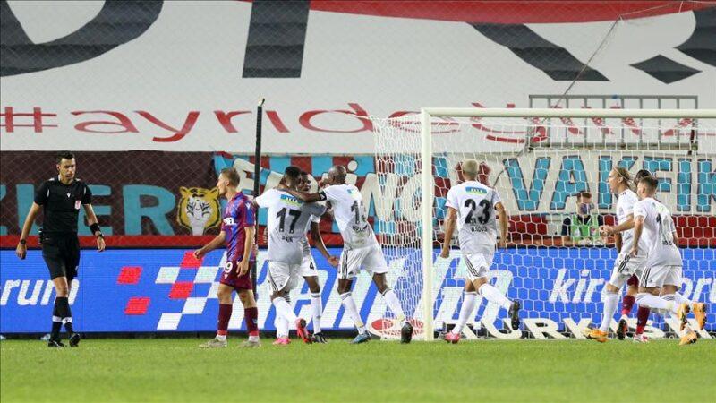 Trabzon'da kazanan Beşiktaş