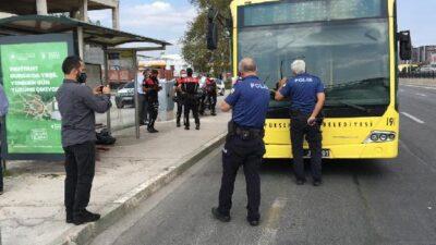 Bursa'da otobüste maske tartışmasında kan aktı