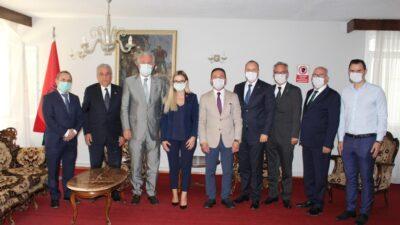İnegöl Belediyesi'nden Zambiya'ya 20 bin maske