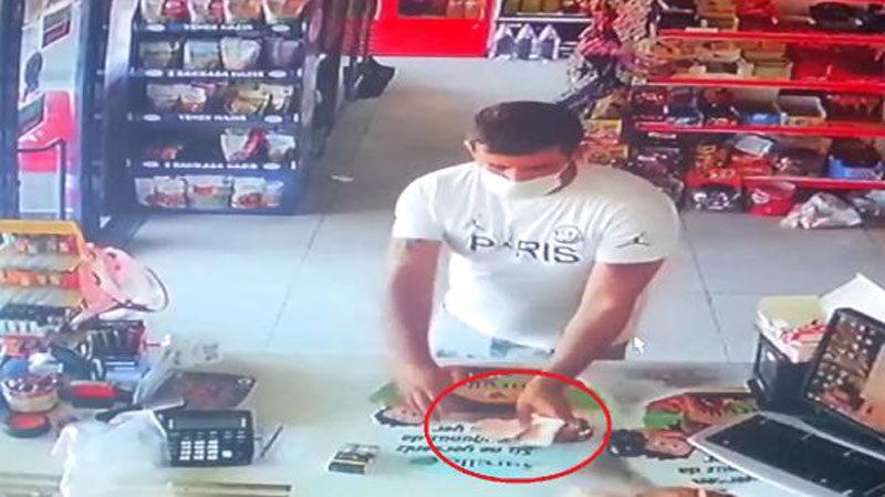 Bursa'da tırnakçılar kameraya yakalandı