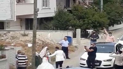 Bursa'da düğün magandalarına ceza yağdı