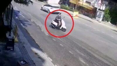 Bursa'daki kaza hem düşündürdü hemde üzdü…O anlar kamerada