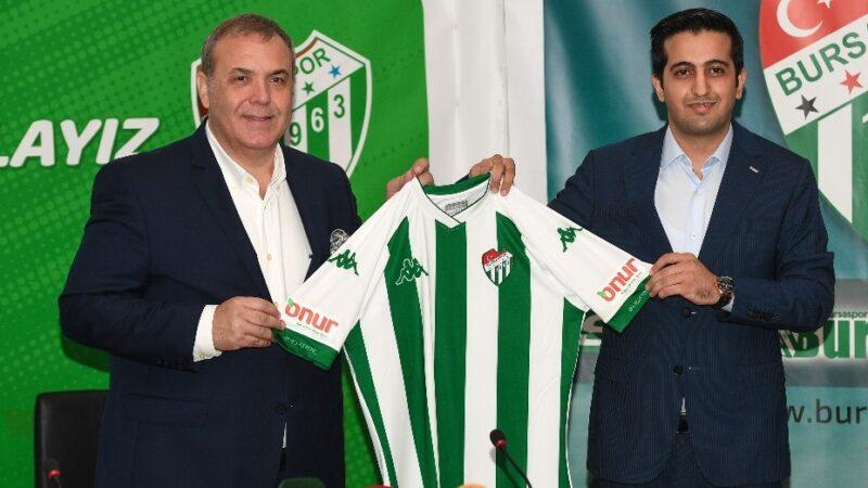 Bursaspor forma kol sponsoruyla sözleşme imzaladı