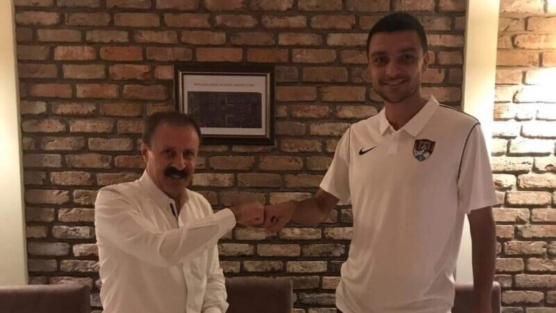 Bursaspor'dan ayrıldı, Vanspor'a gitti