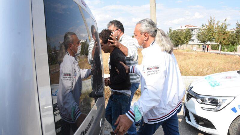 Cezaevi firarisi, çaldığı otomobille yakalandı