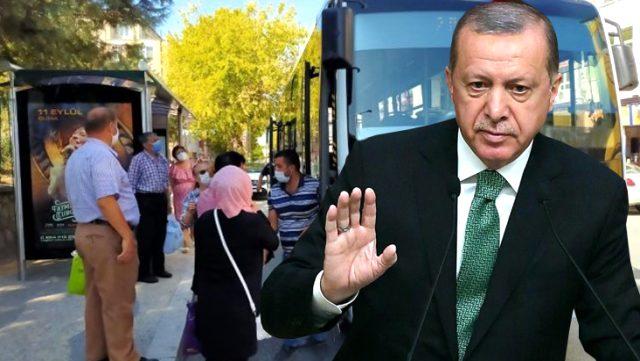 Cumhurbaşkanı Erdoğan sinyali vermişti! İlk kısıtlama haberi geldi