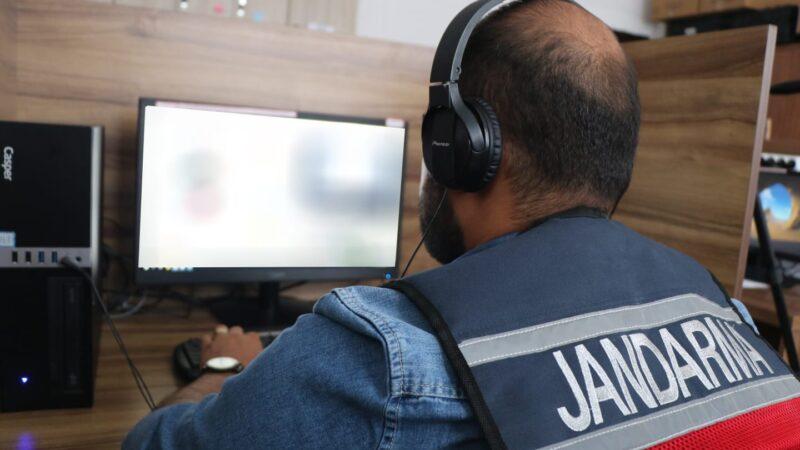 Jandarmadan siber operasyon: 46 site erişime kapatıldı