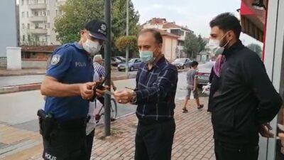 Yer: Bursa… Emniyet müdürü anında müdahale etti! Ceza kesildi