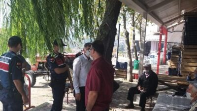 Bursa'da jandarmadan korona denetimi! Tedbirlere uymayanlara ceza yağdı