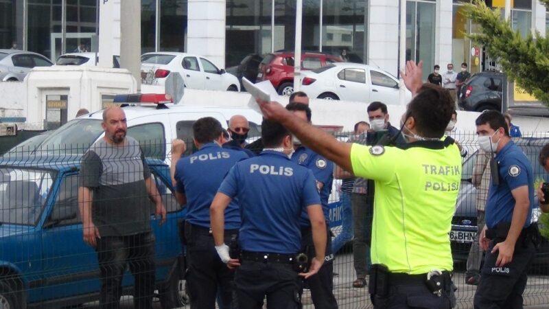 Bursa'da kaza sonrası alkollü sürücü ortalığı birbirine kattı