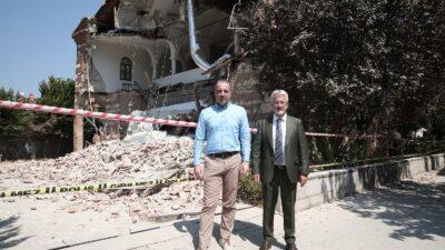 OLAY 8 ay önce uyarmıştı! Özlüce Kilisesi yıkıldı…