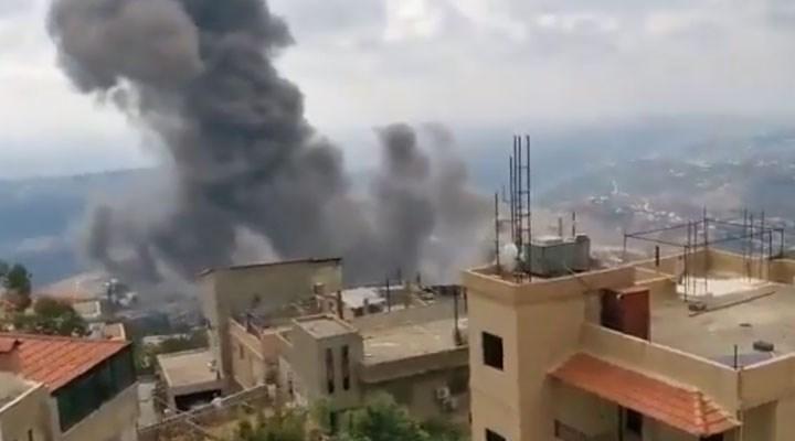 Lübnan'ın güneyinde büyük bir patlama meydana geldi