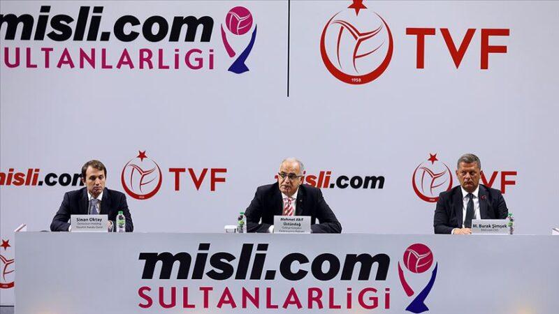 Voleybolda Sultanlar Ligi'ne yeni isim sponsoru