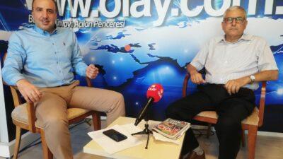 Bursa Kantinciler Odası Başkanı Recep Çam, Olay Gazetesi Yazarı Mustafa Özdal'ın konuğu oldu…