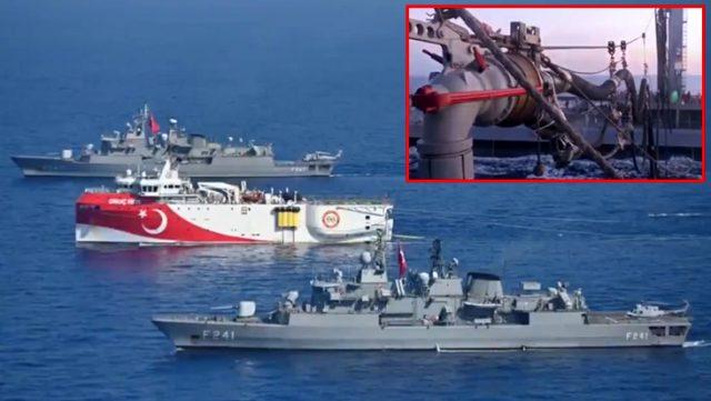 MSB, Oruç Reis'ten yeni görüntü paylaştı: Doğu Akdeniz'de hiçbir kabadayılığa izin verilmeyecek