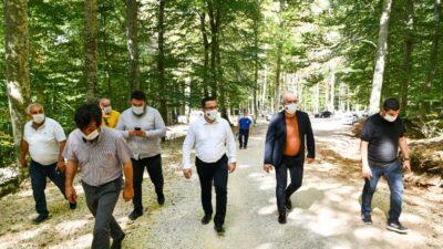 Suuçtu Tabiat Parkı yolları güzelleşiyor