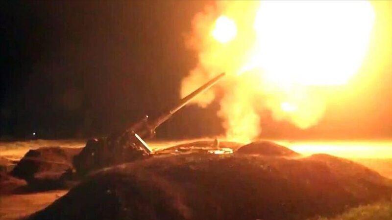 Azerbaycan ordusu bomba yağdırdı: Ermeni güçlerine darbe üstüne darbe