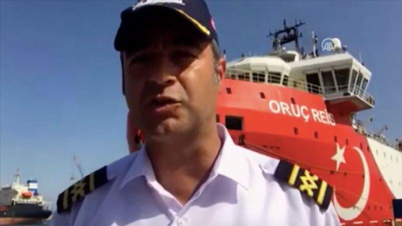 Oruç Reis'in kaptanından flaş açıklamalar
