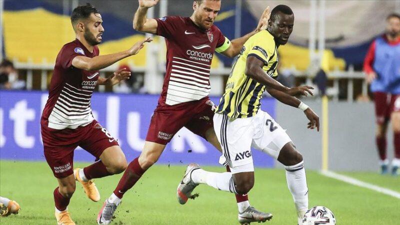 Fenerbahçe evinde puan kaybetti
