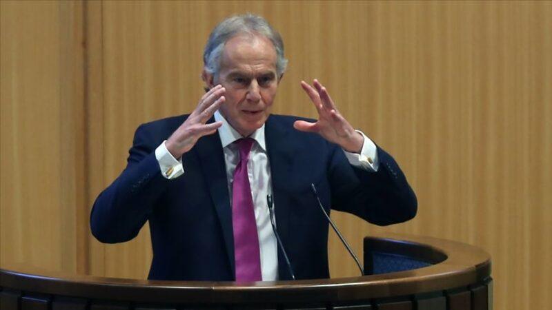 Eski İngiltere Başbakanı Blair'den Filistin yönetiminin İsrail ile ilişkilere önem verenlerle değiştirilmesi çağrısı