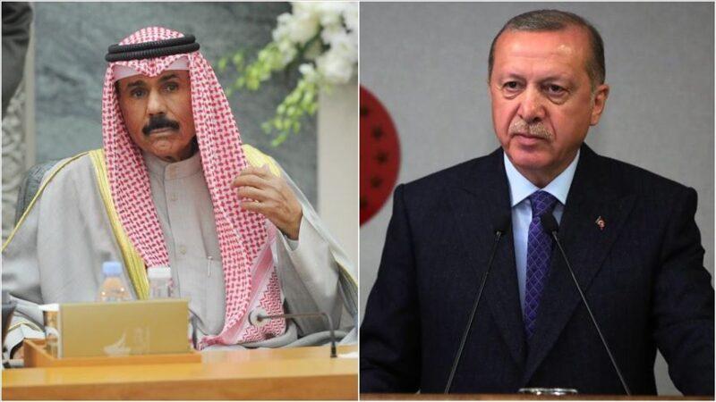 Cumhurbaşkanı Erdoğan, yeni Kuveyt Emiri ile görüştü