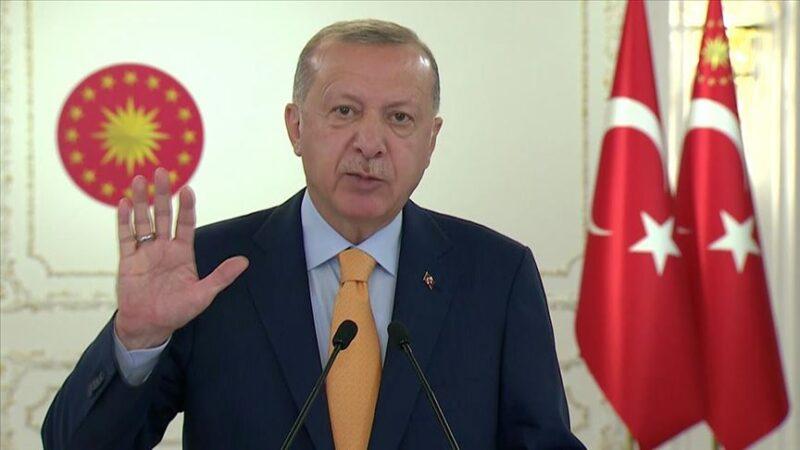 Cumhurbaşkanı Erdoğan'dan BM'de Doğu Akdeniz mesajı