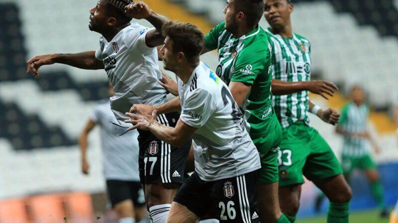 Beşiktaş Avrupa defterini kapattı