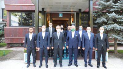 Bursaspor'dan Aktaş'a ziyaret… Güzel şeyler olacak…