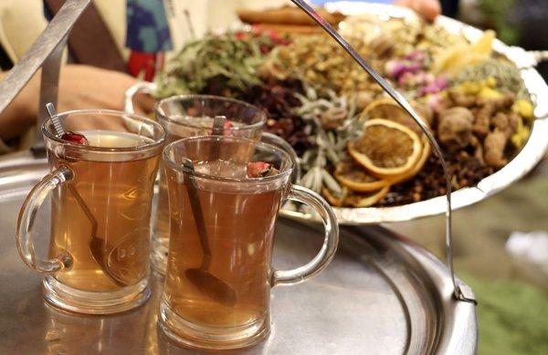 12 farklı bitki ile hazırlanan mucizevi çay…