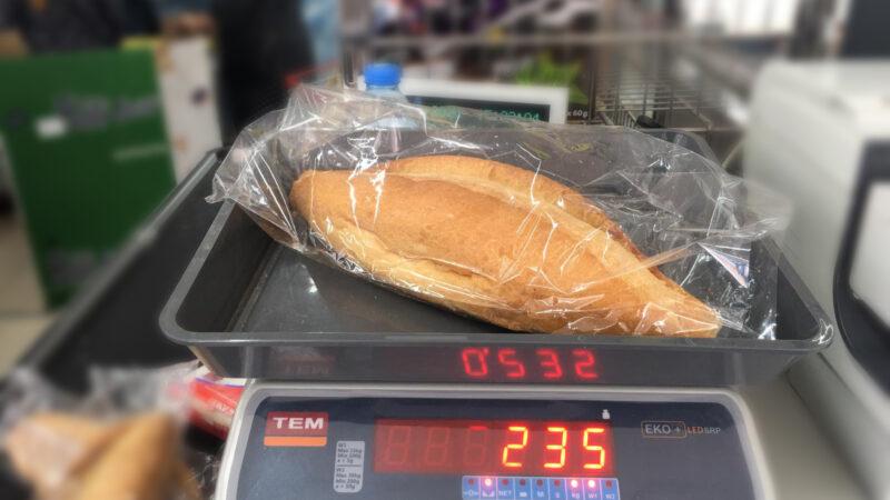 Bursa'da marketlerde de ekmek gramajları denetlendi