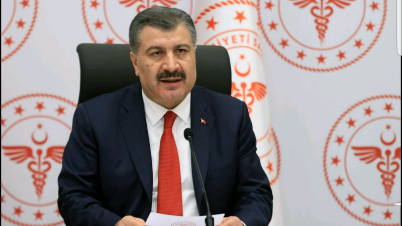 Sağlık Bakanı Koca: 'Milletçe başımız sağ olsun'