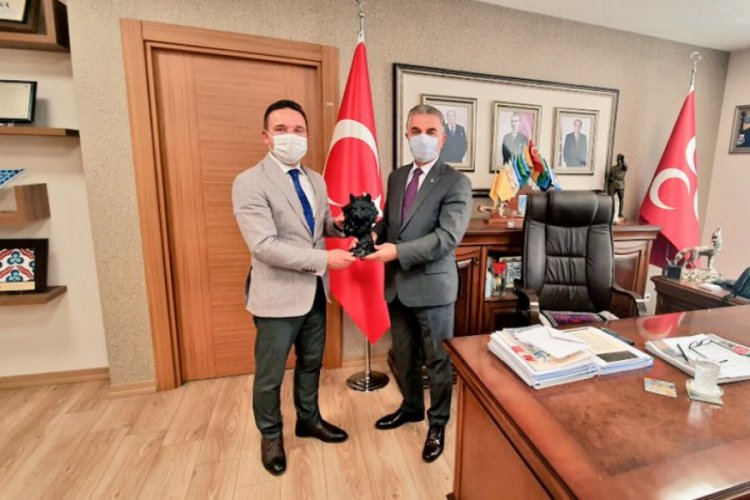 AK Parti Bursa Milletvekili Atilla Ödünç'ten MHP'ye ziyaret