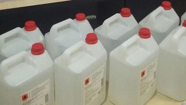 Makine fabrikasına sahte içki baskını
