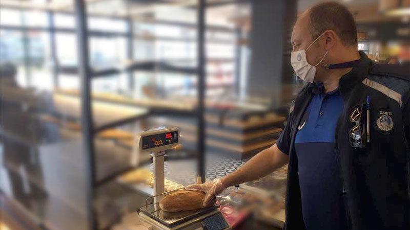 11 ekmek fırınına eksik gramajdan ceza uygulandı