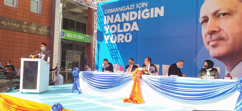 AK Parti Osmangazi kongresinde zorunlu birlik ve beraberlik vurgusu