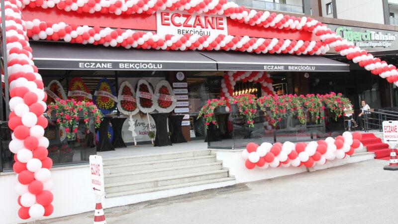 Bekçioğlu Eczanesi Beşevler'de açıldı