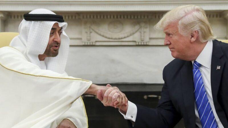Trump, BAE Veliaht Prensi ile görüştü