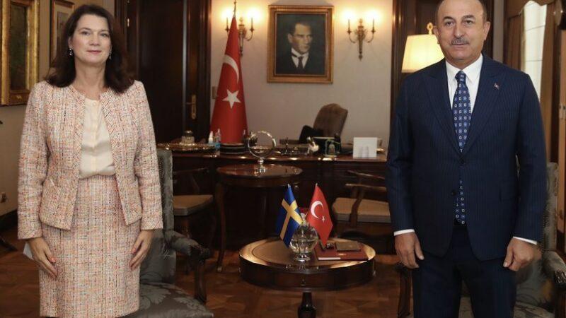 Çavuşoğlu'ndan İsveçli Bakan'a canlı yayında çifte standart dersi