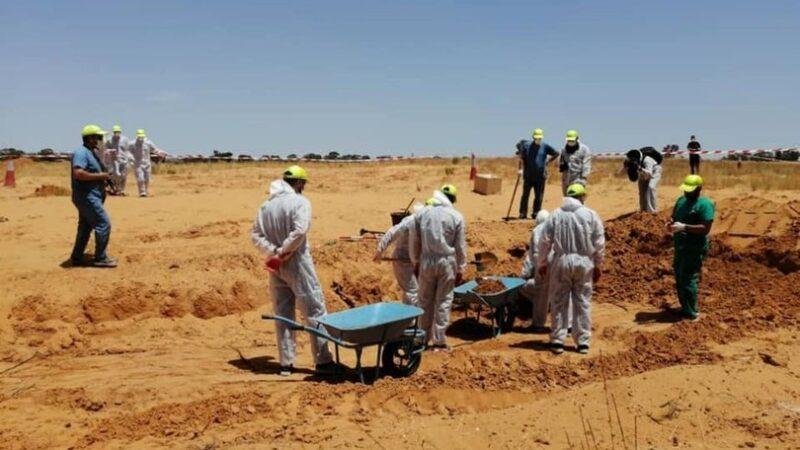 Libya'da yeni toplu mezarlar bulundu