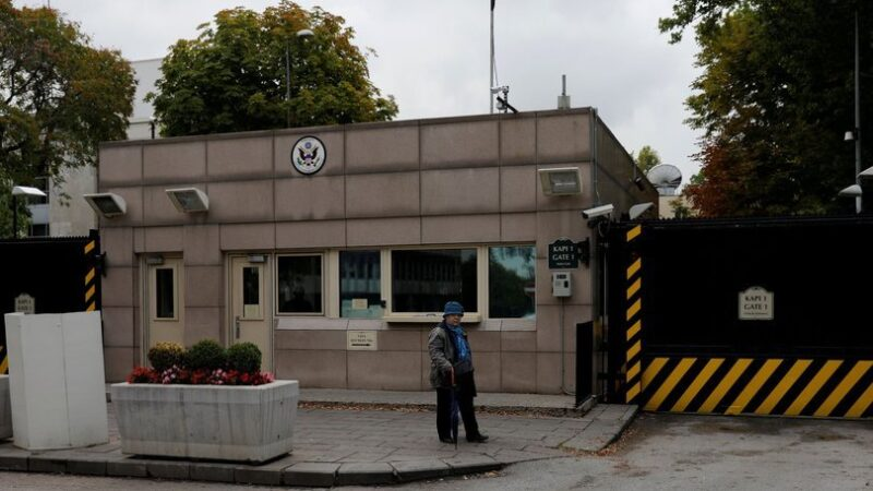 ABD Büyükelçiliği kapılarını kapattı