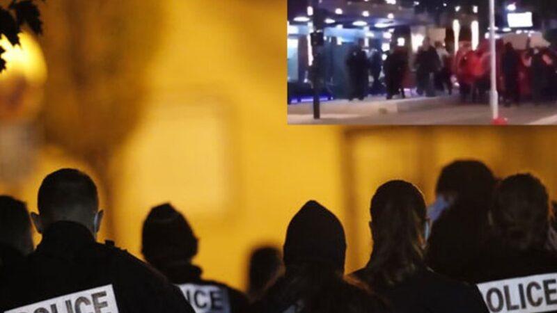 Fransız polisinden Türklere müdahale