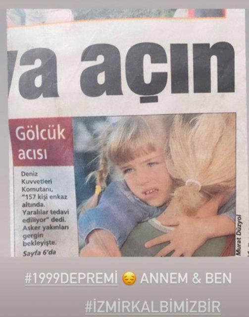 Ünlülerden İzmir paylaşımları…