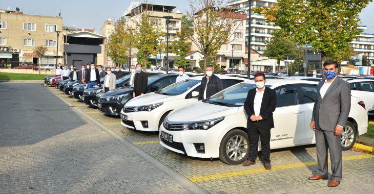 Bursa'da korona ile mücadeleye lojistik destek