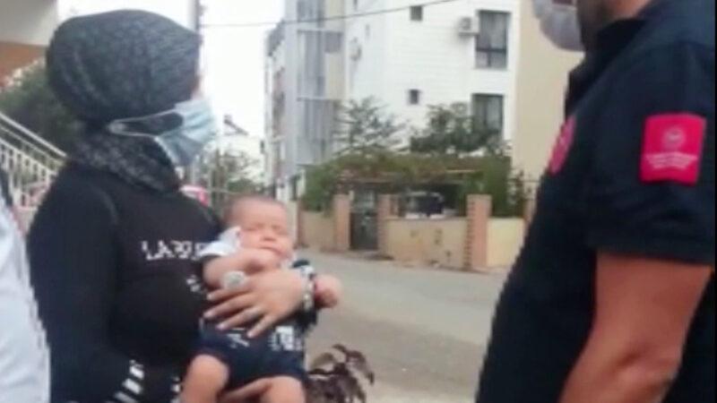 3 aylık bebek, terk edilmiş halde bulundu