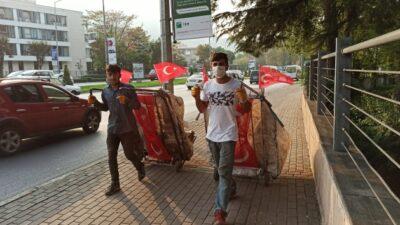 Yer: Bursa… Bayramın en anlamlı görüntüsü