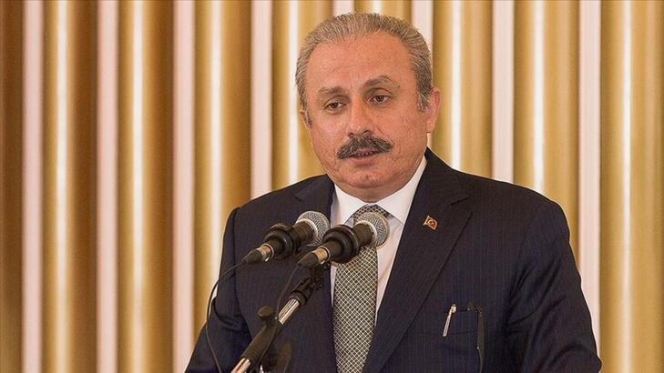 TBMM Başkanı, 12. Uluslararası Dünya Dili Türkçe Sempozyumu'nun açılışında konuştu