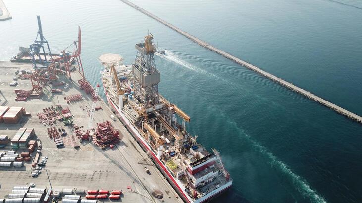 Kanuni Sondaj Gemisi'nin platform söküm çalışmaları başladı