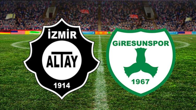 Altay-Giresunspor maçına koronavirüs engeli